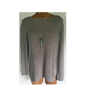 Vince Sweater Knit Womans Size Medium